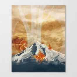 The Fish of Mt Hood Canvas Print