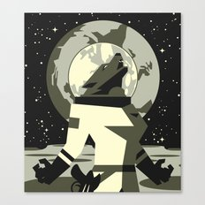 Werewolf in the Moon Canvas Print