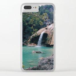 Turner falls Clear iPhone Case