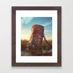 Coke Framed Art Print