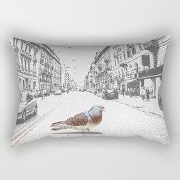 Dove in Italy Rectangular Pillow