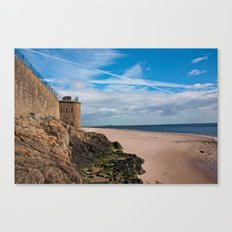 Broughty Ferry Beach, Scotland Canvas Print