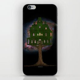 Cosmos Tree House iPhone Skin