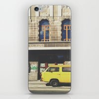 yellow submarine iPhone & iPod Skins featuring Yellow submarine by monicamarcov