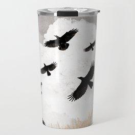 Walter and The Crows Travel Mug