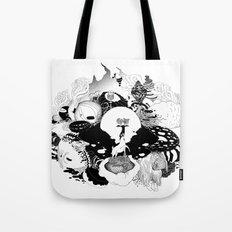Brain junk forest Tote Bag