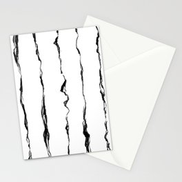 Energy ink stripes Stationery Cards