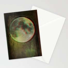 Stereo Moon Stationery Cards