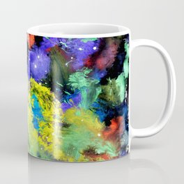 Colorful Chaos painting Coffee Mug