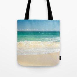 beach blue Tote Bag