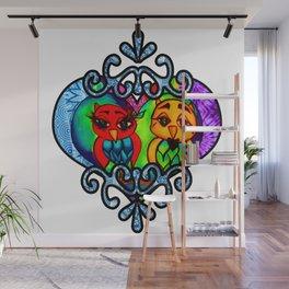 Regal Love Owls Wall Mural