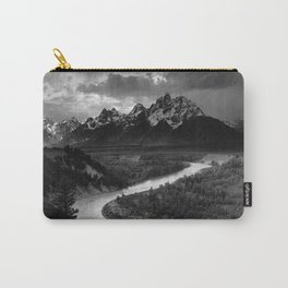 Ansel Adams The Tetons and the Snake River Carry-All Pouch