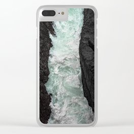 Between the Cliffs, Mendocino Clear iPhone Case