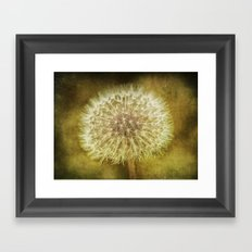 The Lion's Tooth Framed Art Print