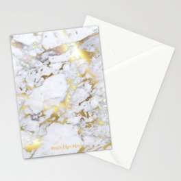 Original Gold Marble Stationery Cards