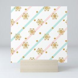 Snowflakes Mini Art Print