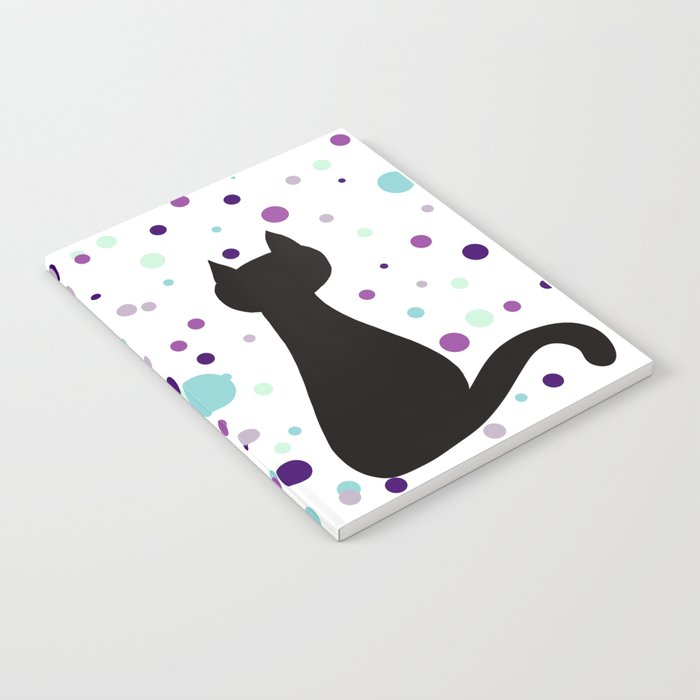 Black Cat Party! Notebook