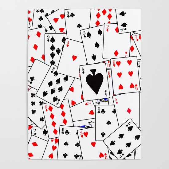 Random Playing Card Background by homestead