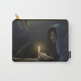 Reading in the moonlight Carry-All Pouch