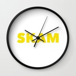 SKAM Wall Clock