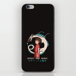 Spirit and Magic iPhone Skin
