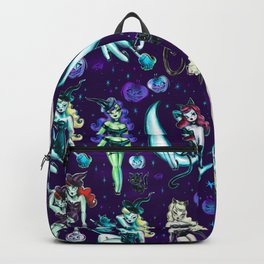Witches and Black Cats Backpack