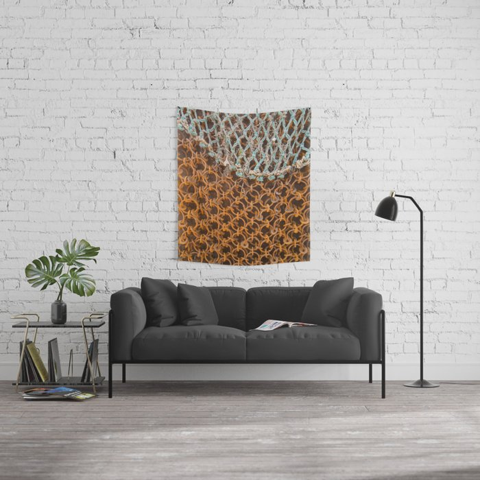 texture - connections Wall Tapestry