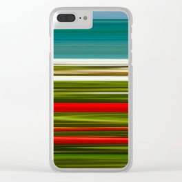 Praia da Luz Spring Poppies Clear iPhone Case