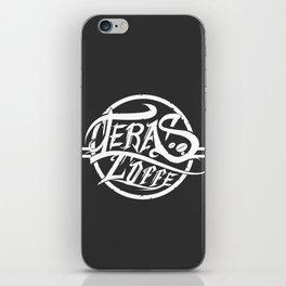 Teras coffee iPhone Skin