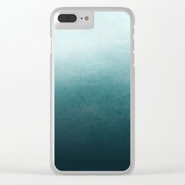 Black Ice Clear iPhone Case