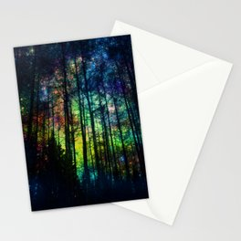 Magical Forest II Stationery Cards