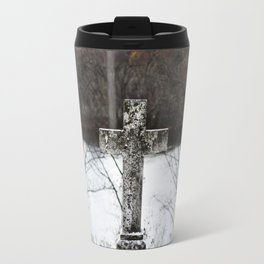 Single Cross Travel Mug