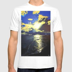 Eventide MEDIUM White Mens Fitted Tee