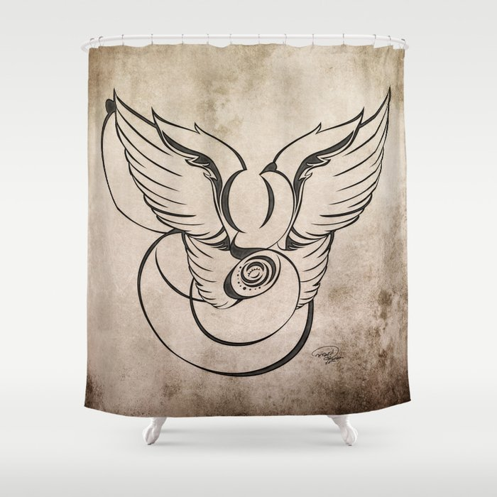 AngeloDiabolico G Shower Curtain
