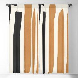 abstract minimal 54 Blackout Curtain