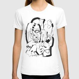 Seduction - b&w T-shirt