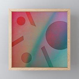 NO EFFORT Framed Mini Art Print