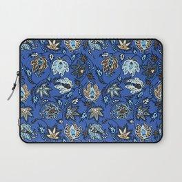 Protea Batik Hawaiian Tropical Floral Laptop Sleeve