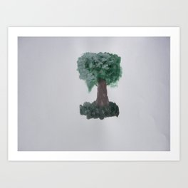 Lonely tree.  Art Print
