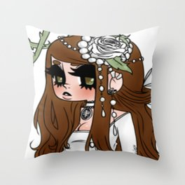 Light Lolita Throw Pillow