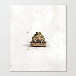 The Toad Canvas Print