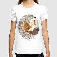 leaf T-shirts featuring leaf by Deviens