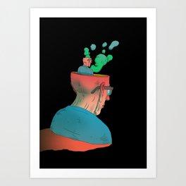 Californium | Just think Art Print