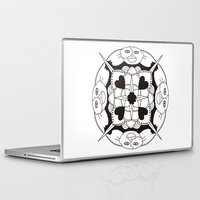 gizmo Laptop & iPad Skins featuring Gizmo Mandala by Podridisima