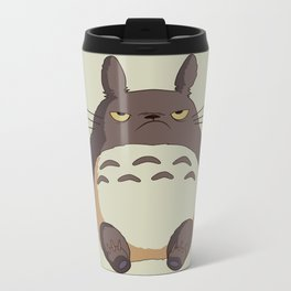 Grumpy T0toro Metal Travel Mug