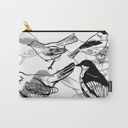 Painty birds Carry-All Pouch