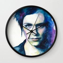 Brian Molko (Night  sky) Wall Clock
