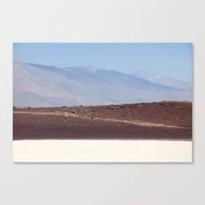 Layers of Earth (Fossil Falls, California) Canvas Print