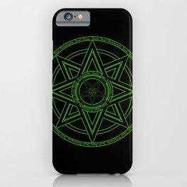 Zazaz Zazas Nasatanada Zazas (green acid edit) iPhone Case