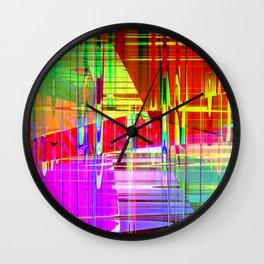 steel 2 Wall Clock